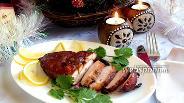 Фото рецепта Копчёное куриное филе по-домашнему