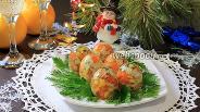 Фото рецепта Заливные яйца «Фаберже»