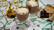 Фото рецепта Шоколадная панна-котта
