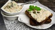 Фото рецепта Брускетта с тунцом