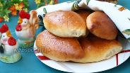 Фото рецепта Пирожки с капустой в духовке