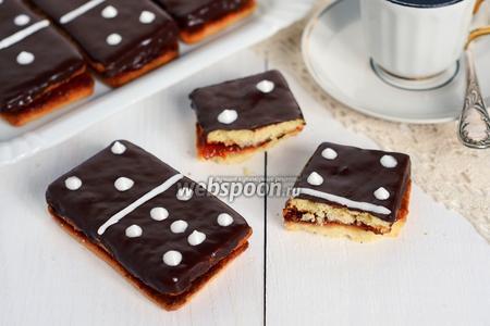 Пирожные «Домино»