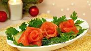 Фото рецепта Форель слабосолёная