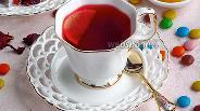 Фото рецепта Чай каркаде с пряностями и лимоном