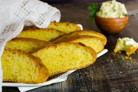 Мятно-апельсиновый хлеб с мятным маслом