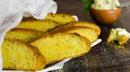 Фото рецепта Мятно-апельсиновый хлеб с мятным маслом