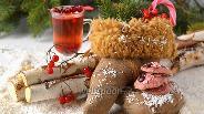 Фото рецепта Розовое клюквенное печенье с шоколадом