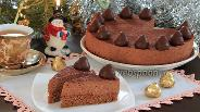 Фото рецепта Шоколадно-трюфельный торт
