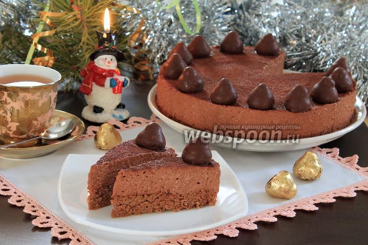 Фото Шоколадно-трюфельный торт