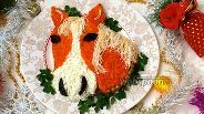 Фото рецепта Салат «Лошадь»