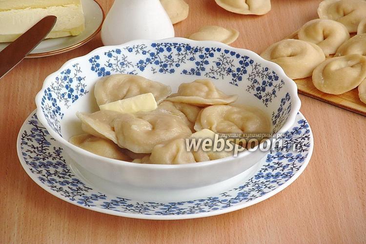 Фото Пельмени с картофелем по-белорусски