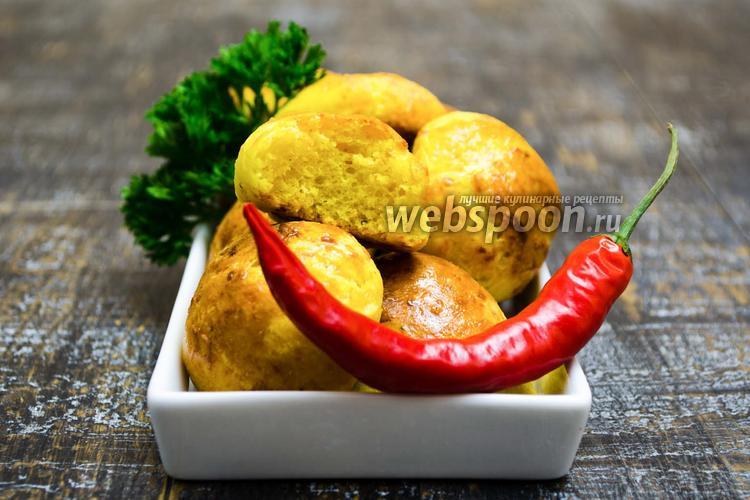 Фото Сырные булочки с перчиком