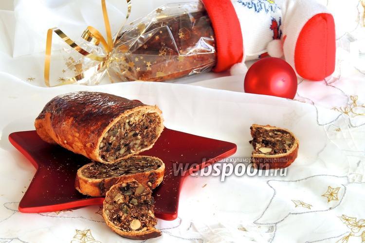 Фото Бюнднерский грушевый хлеб