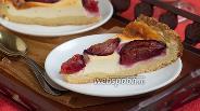 Фото рецепта Страсбургский пирог со сливами