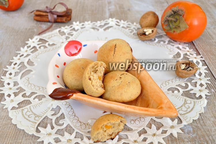 Фото Печенье с хурмой