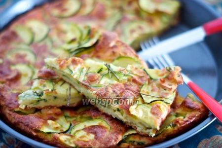 Тосканский пирог с цукини