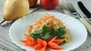 Фото рецепта Салат из пекинской капусты с фруктами