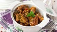 Фото рецепта Свинина тушёная в медовом соусе