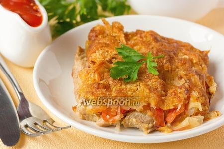 Индюшиное филе, запечённое под аппетитной корочкой