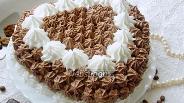 Фото рецепта Ореховый торт с кофейным кремом