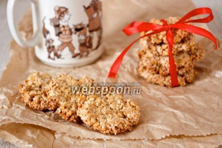 Фото Овсяное печенье