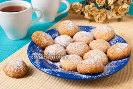 Кокосовое печенье с кардамоном