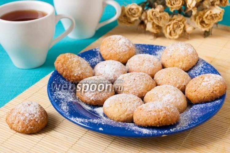 Фото Кокосовое печенье с кардамоном