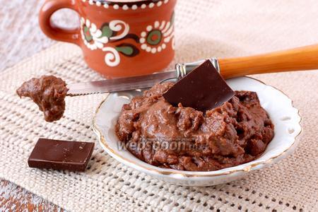 Шоколадный заварной крем в микроволновке