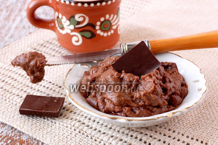 Фото Шоколадный заварной крем в микроволновке