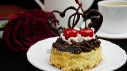 Фото рецепта Гренки с шоколадно-банановой пастой