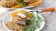 Фото рецепта Куриная грудка в орехово-хлебной панировке