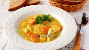Фото рецепта Куриная грудка с овощами в пряном молочном соусе