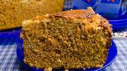 Фото рецепта Тыквенный пирог с крем-сыром
