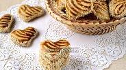 Фото рецепта Кунжутное печенье со сгущёнкой