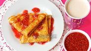 Фото рецепта Блины на ряженке