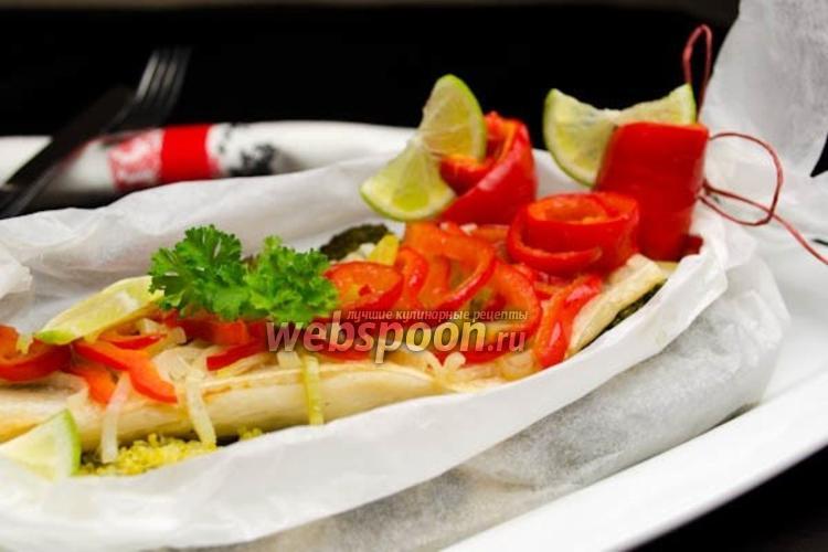 Фото Судак с овощами на пару