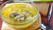 Фото рецепта Суп с консервами «Сардины в масле»