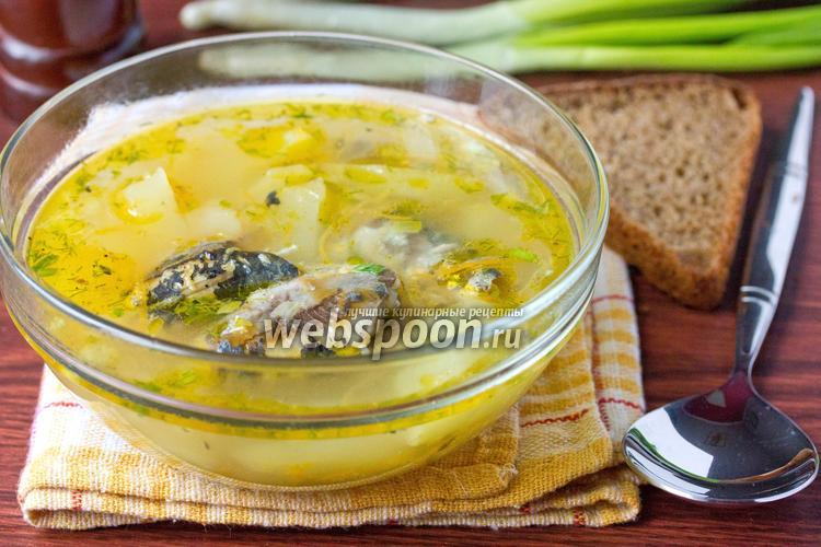 Фото Суп с консервами «Сардины в масле»