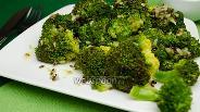Фото рецепта Капуста брокколи на пару