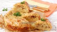 Фото рецепта Ленивая кулебяка с капустой