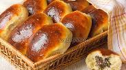 Фото рецепта Пирожки с ливером и рисом печёные