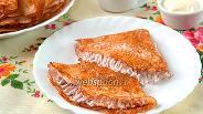 Фото рецепта Ажурные блины на дрожжах