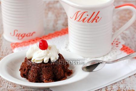 Фото рецепта «Пьяные» шоколадно-ореховые кексы