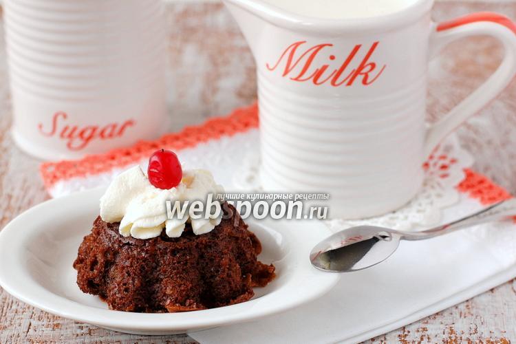 Фото «Пьяные» шоколадно-ореховые кексы