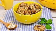 Фото рецепта Овсяное печенье с бананом