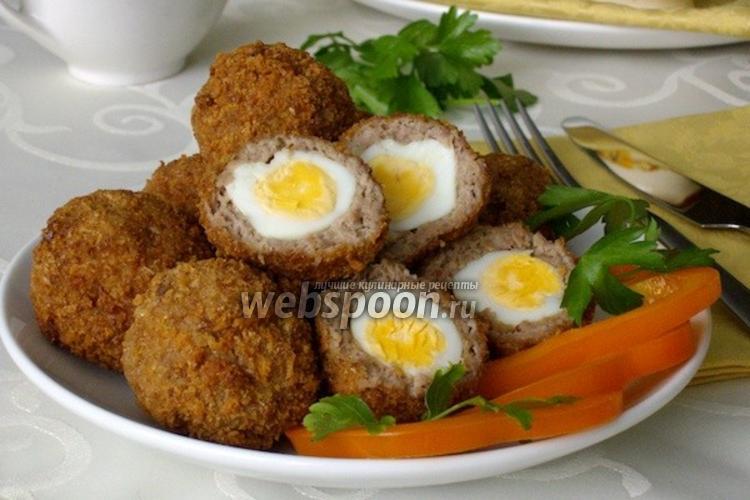 Фото Яйца по-шотландски
