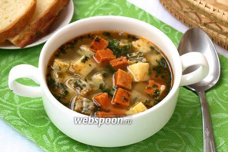 Суп «Minеstra Tricolore»