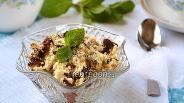 Фото рецепта Десерт «Минутка» в микроволновке