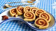Фото рецепта Печенье с ореховым пралине