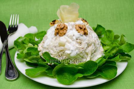 Салат с грушей и сельдереем